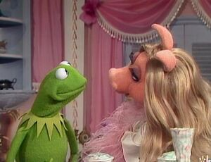 Miss piggy dressing room