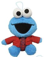 Shinee plush 1 cookie monster