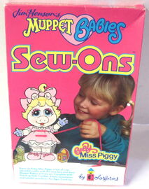 Colorforms 1989 muppet babies sew-ons