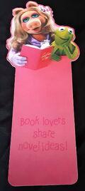 Hallmark 1980 bookmark piggy kermit
