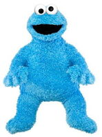 Sesame place plush cookie monster 30