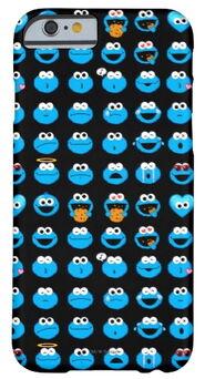 Zazzle cookie monster emoji pattern