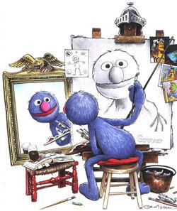 GroversSelfPortraitJoeMathieu