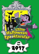Sesame place count spooktacular 2017 LE pin