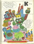 King Oscar - The Sesame Street Storybook Alphabet