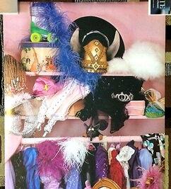 Scandecor 1981 piggy dressing room poster 2