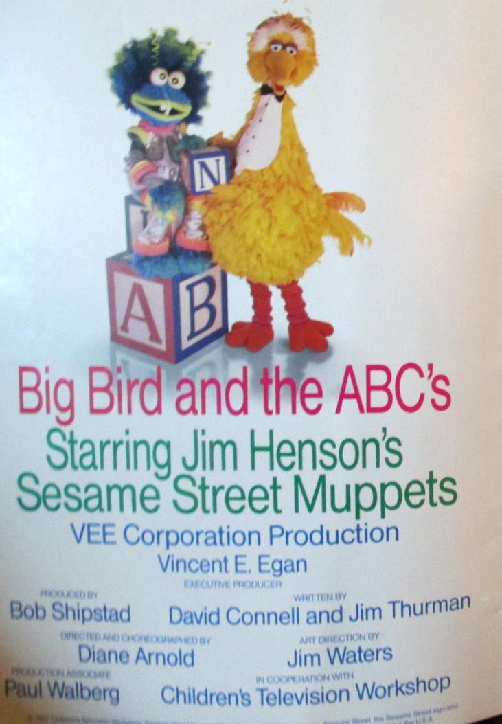 Big Bird And The Abcs Muppet Wiki Fandom