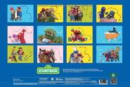 Sesamstrasse posterkalender 2014 back