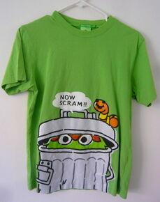 B 2009 t-shirt green og