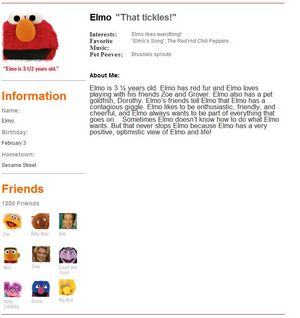 Elmo profile