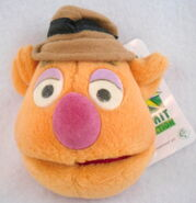 Giftware international 1998 uk plush head magnet fozzie