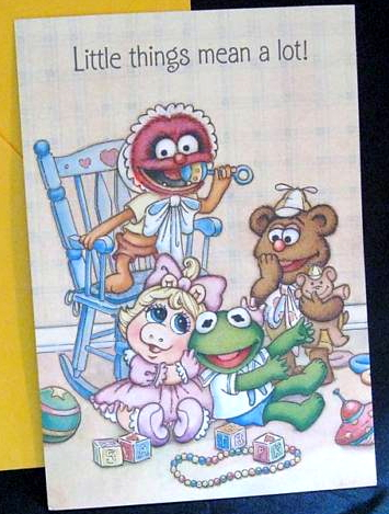 Muppet babies greeting cards muppet wiki fandom powered by wikia ambassador cards made a line of muppet babies greeting cards in 1987 m4hsunfo