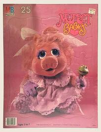 Muppet Babies Milton Bradley puzzle Piggy