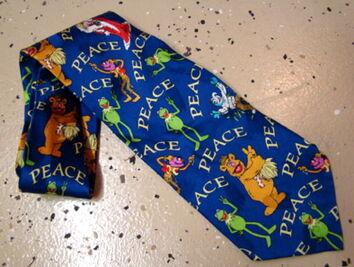 Muppet peace tie