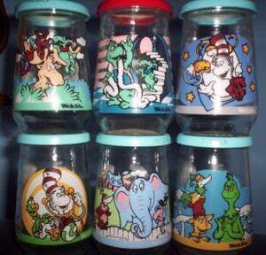 Welchs jelly jars
