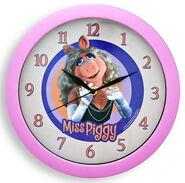Clock wall piggy