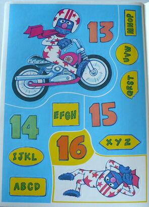 Grover sticker book 6