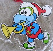 Kurt adler flat muppet babies christmas ornament gonzo