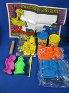 Play-doh playskool 1996 abc company set 3