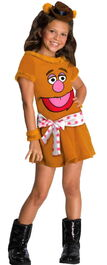 Rubies 2012 halloween costume girl fozzie