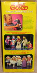 Fisher-price dress-up muppet doll gonzo 3