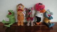 International giftware uk 1998 muppet clip-on plush