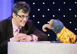 Joe Pasquale and Gonzo