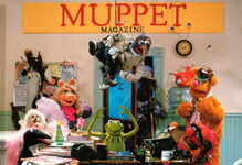 Muppet magazine 1987 postcard to fans 1