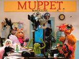 Muppet Magazine postcard
