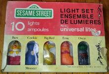Universal lites 1980 christmas light set 1