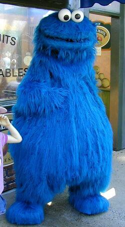 Cookie monster sesame place walk-around