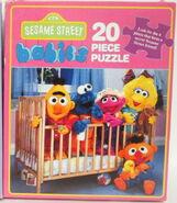 Milton bradley sesame babies puzzles 1992