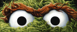 Mondo Eyes Without a Face exhibit 63-FINAL-Oscar-the-Grouch-EWAF