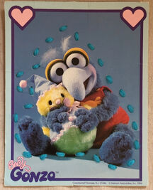 Muppet Babies Sewing Cards Gonzo