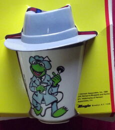 Superseal 1988 fun mugs kermit piggy cups 5