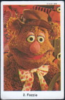 Sweden swap gum cards 2 fozzie