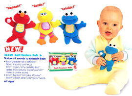 Tyco 1998 soft texture pals