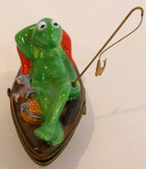 Bernadaud 1996 limoges kermit collection rowboat box 3