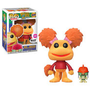 Funko red flocked