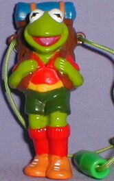 Justoys necklace kermit