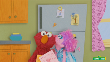 Kiss-Elmo and Abby Valentine s Day Song