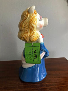 Miss Piggy bank Sigma with tag