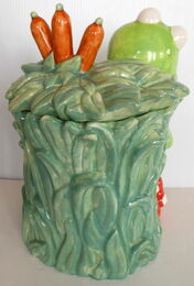 Pfaltzgraff treasure craft cookie jar kermit 4