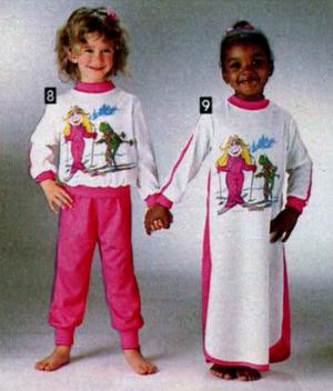 Sekiguchi 1981 ski-style pajamas