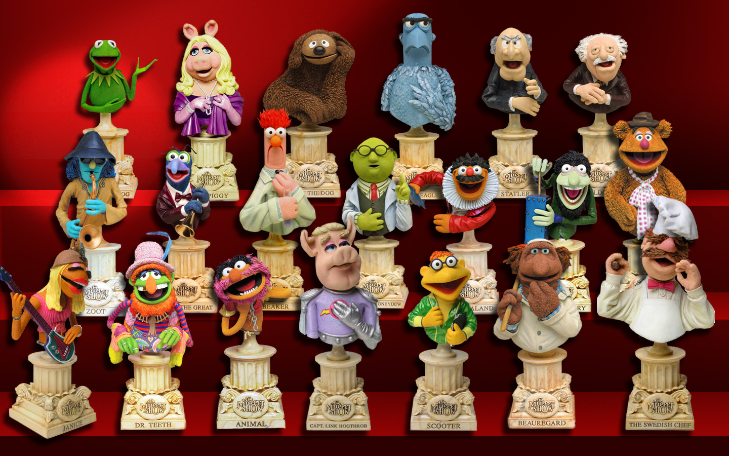 Muppet busts (Sideshow Collectibles)   Muppet Wiki   FANDOM