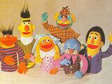Ábrete Sésamo puppets (Vicma)