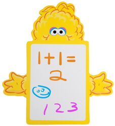 Delta children's products 2011 big bird dry erase memo board