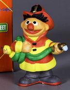 Enesco ernie fireman bisque figurine