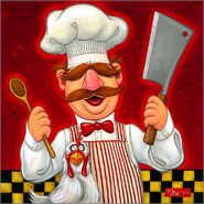 Giclee swedish chef - tim rogerson 2017