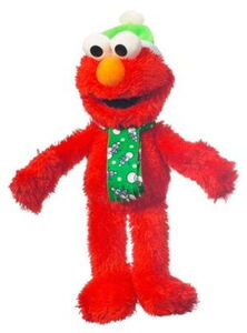 Hasbro 2011 winter plush elmo